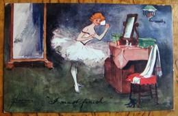 Illustrateur- Loge De Danseuse - Signature à Déchiffrer - Illustrateurs & Photographes