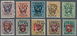 POLAND CENTRAL LITHUANIA LITWA SRODKOWA VILNIUS WILNO 1920 OVERPRINT - Litauen