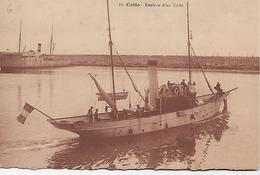 CPA- Cette - Rentrée D'un Yacht. - Segelboote