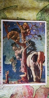 "OLD USSR  Postcard ""ELEPHANT, Bear AND Fox ""   1958 - Elephants"