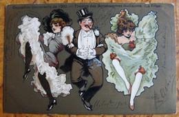 Théâtre Des Bonshommes Guillaume-Exposition Universelle 1900- Cancan Femmes - Guillaume