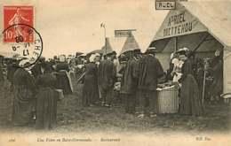 141218A - 50 Une Foire En Basse Normandie - Restaurants RUEL A Et LEMOIGNE De QUETTEHOU - Frankreich