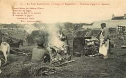141218A - 50 LESSAY La Foire à Sainte Croix 12 Septembre Tournous D'gigot Et Cuisiniers - Rotisserie Barbecue - France