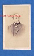 Photo Ancienne CDV Vers 1870 - METZ ( Moselle ) - Portrait De Monsieur MAULIN ? Lire Verso - Photographe G. Malardot - Anciennes (Av. 1900)