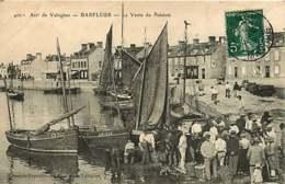 141218A - 50 BARFLEUR La Vente Du Poisson - Pêche Criée Voilier Pêcheur - Barfleur