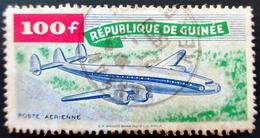 République De Guinée Yt PA1, PA9 Poste Aérienne 50 Frs & 100 Frs Oblitérés Used - Guinée (1958-...)