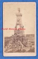 Photo Ancienne CDV Vers 1870 - METZ ( Moselle ) - Cimetiére Chambiére Monument Aux Soldats Français - Photographe Collet - Anciennes (Av. 1900)