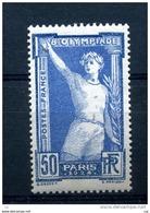 France  :  Yv  186  **        ,   N4 - France