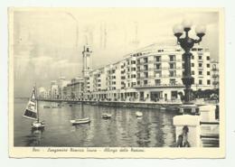 BARI - LUNGOMARE N.SAURO - ALBERGO DELLE NAZIONI 1937  VIAGGIATA FG - Bari