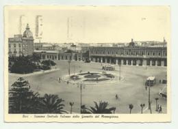BARI - STAZIONE CENTRALE, PALAZZO DELLA GAZZETTA DEL MEZZOGIORNO 1937  VIAGGIATA FG - Bari