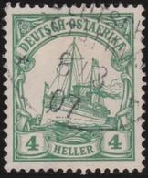 Deutsch  Ost-Afrika    .     Michel   23      .       O     .      Gebraucht - Kolonie: Deutsch-Ostafrika