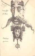 IRAN / Carte Illustrée Par ORENS - Mouzaffer Ed Dine - Iran