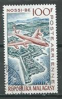 Madagascar Poste Aérienne YT N°87 Nossi-Bé Oblitéré ° - Madagascar (1960-...)