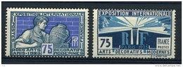 France  :  Yv  214-15   * - France