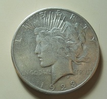USA 1 Dollar 1923 S Silver - Federal Issues