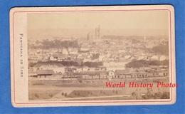 Photo Ancienne CDV - SENS ( Yonne ) - Vue Sur La Gare & Panorama De La Ville - 1888 - Train Chemin De Fer Wagon - Anciennes (Av. 1900)