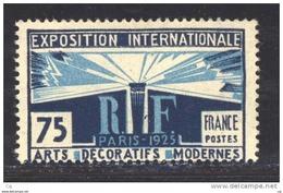 France  :  Yv  215  **       ,            N3 - France
