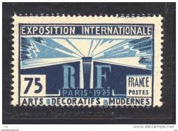 France  :  Yv  215  **       ,            N2 - France