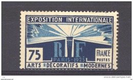 France  :  Yv  215  ** - France