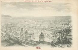 Italie L'ITALIE A VOL D'OISEAU PISE Gravure  Précurseur TBE - Sin Clasificación