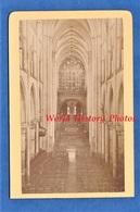 Photo Ancienne CDV - DOL De BRETAGNE Ille Et Vilaine - Intérieur De La Cathédrale - 1877 - Ordinaire Photographe Cancale - Anciennes (Av. 1900)
