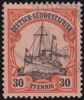 Deutsch  SudWest-Afrika    .     Michel   16       .       O     .      Gebraucht - Kolonie: Deutsch-Südwestafrika