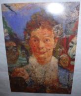 Carte Postale - James Ensor (1860-1949) - Publicité