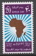 Egypt 1972 Mi# 1093** AFRICA DAY - Égypte