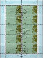Musiker Schumann 2010 BRD 2797 KB 10€ Lithographie Komponist Hb Bloc Art Ss Music Sheet History Sheetlet Bf Germany - [7] Repubblica Federale