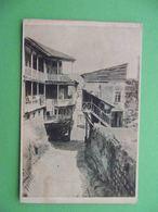 GEORGIA TIFLIS Tbilisi 1920x Old Town, Street. Russian Postcard - Géorgie