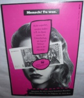 Carte Postale - Aktion Gemeinsinn (billet De Banque - Tausend Deutsche Mark) - Publicité