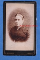 2 Photos Anciennes CDV Vers 1880 - SALUZZO - Portrait Femme & Homme - Photographie G. Migliore Coni Piemonte - Anciennes (Av. 1900)
