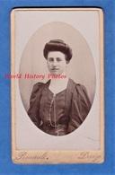 Photo Ancienne - DECIZE ( Nièvre ) - Beau Portrait De Mme François Laporte - Photographe Rouault Femme Mode - Anciennes (Av. 1900)