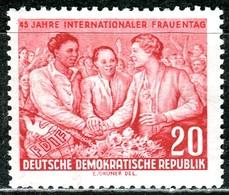 A12-50-5) DDR - Mi 451 - ** Postfrisch - 20Pf              Internationaler Frauentag - [6] République Démocratique
