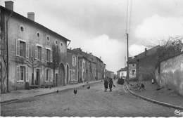 54 - BLAINVILLE Sur L'EAU : La Rue Du Chateau - CPSM  Dentelée Noir Blanc Format CPA - Meurthe Moselle - France