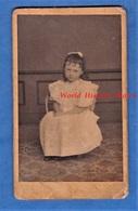 Photo Ancienne CDV Vers 1900 , Papier Photo à Identifier - TREGUIER - Portrait Petite Fille Mode - François Huard - Anciennes (Av. 1900)