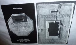 2 Cartes Postales - Poste Italiane (XVIIe Et XVIIIe Siècles) - Publicité