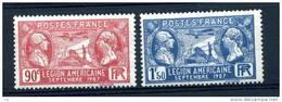 France  :  Yv  244-45  * - France
