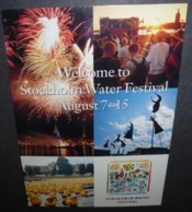 Carte Postale - Welcome To Stockholm Water Festival - Publicité