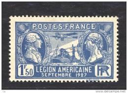 France  :  Yv  245  **     ,            N3 - France