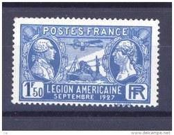 France  :  Yv  245  **                   ,         N4 - France