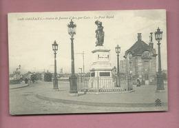 CPA - Orléans -Statue De Jeanne D'Arc , Par Gois - Le Pont Royal - Orleans