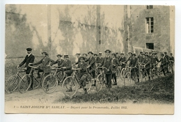 Sarlat Saint Joseph Départ Pour La Promenade (cyclisme) - Sarlat La Caneda