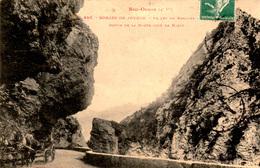 GORGES DE JOUCOU (Aude) - Vallée Du Rebenty - Route Côté NIORT - TBE - Oblitération ESPEZEL - 2 Scans - France