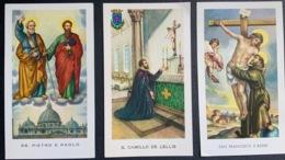 "Santino Holy Card "" S. CAMILLO DE LELLIS   "" Ed. GMI 230 - Religione & Esoterismo"
