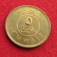 Kuwait 5 Fils 2001 KM# 10  Koweit Koeweit - Koweït