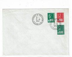 LBR26 - FRANCE CONGRES DE VERSAILLES 21/10/1974 - Philatélie & Monnaies
