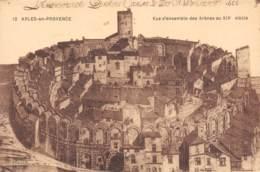 13 - ARLES-en-PROVENCE - Vue D'ensemble Des Arènes Au XIVe Siècle - Arles