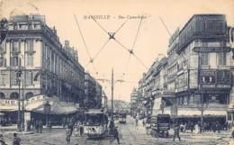 13 - MARSEILLE - Rue Cannebière - Canebière, Centre Ville