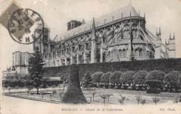18 - BOURGES - Abside De La Cathédrale - Bourges